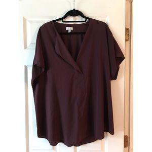 14th & Union | maroon blouse